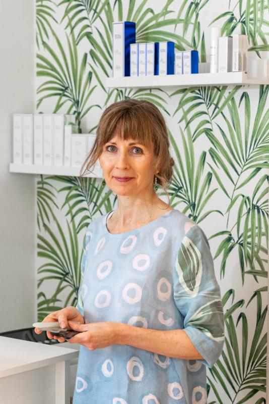 SKY-Cidesco kosmetologi Minna Karinen